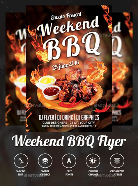 31 Bbq Flyer Templates Psd Vector Eps Jpg Download Bbq Flyer Template Free