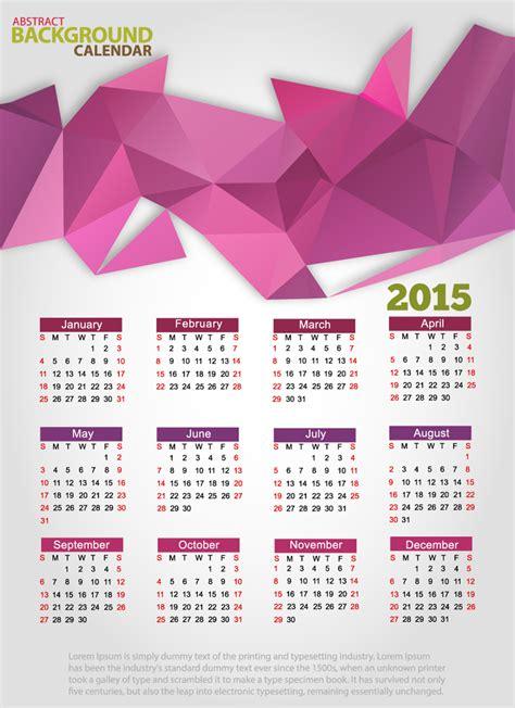 graphic design calendar wallpaper abstract background calendar 2015 vector free vector