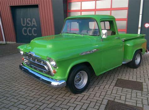 1957 chevy stepside pick up chevrolet 3100 apache pick up shortbed stepside 1957