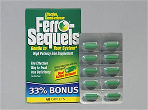 Iron Supplement Stool by Ferro Sequels Patient Information Description Dosage
