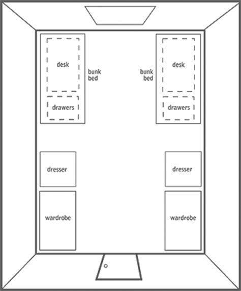 Blank Floor Plan Template by Your Room Express Yourself Housing Operations