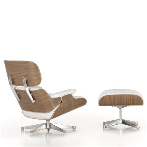 eames chaise lounge dimensions eames lounge chair ottoman white edition new larger