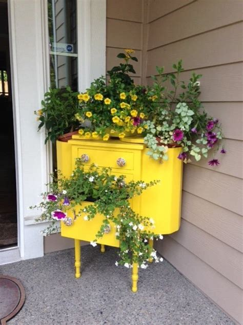 whimsical ways    furniture   flower bed