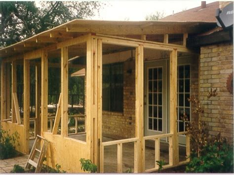 Screened In Deck Screened Porch Plans House Plans With Screened Porches Do
