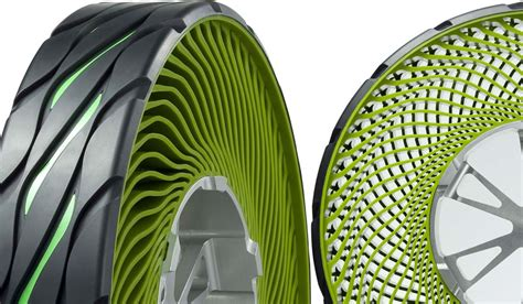 Bridgestone Airless Tires by Bridgestone The Air Out Of Its Tires