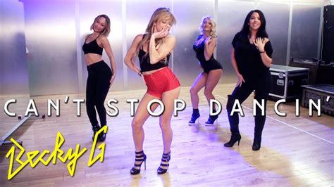 tutorial dance mandy jiroux becky g can t stop dancin dance tutorial youtube