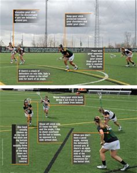 lacrosse dodging tips split dodging with georgetown s lacrosse