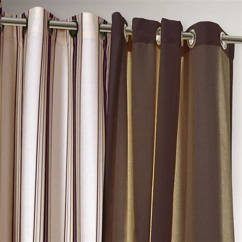 khaki and white striped curtains khaki striped gazebo curtain world market