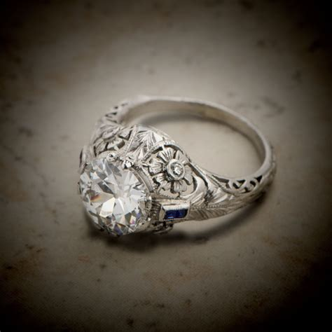 Estate Engagement Rings by Izyaschnye Wedding Rings Wedding Rings Estate