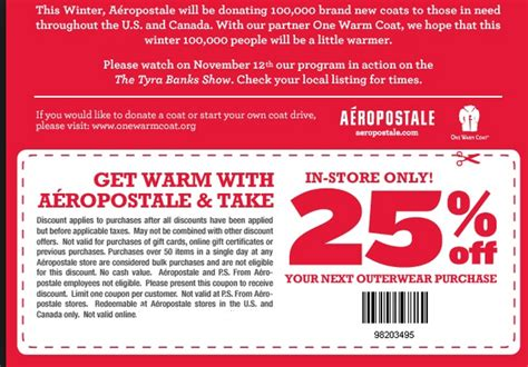 coupon codes for aeropostale 2018
