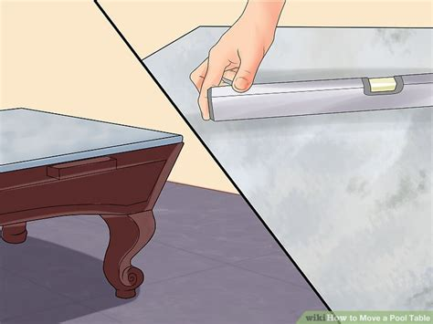 how to move a pool table 3 ways to move a pool table wikihow