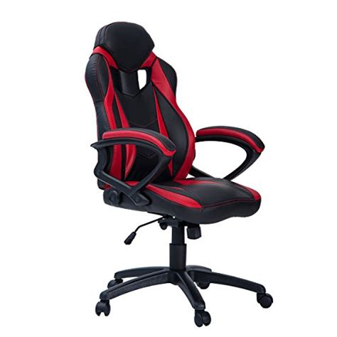best cheap gaming chairs merax merax pp033237 merax ergonomic racing style pu leather gaming chair for home and office