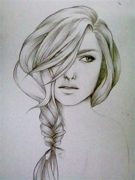 sketches of hair 17 best ideas about girl hair drawing on pinterest manga