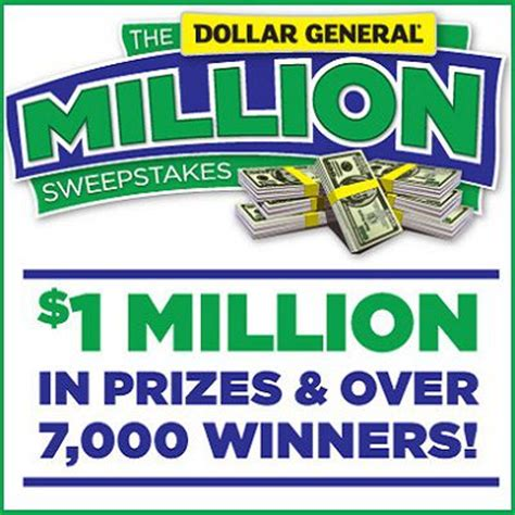 Dollar General Visa Gift Cards - dollargeneral com million sweepstakes sweepstakesbible