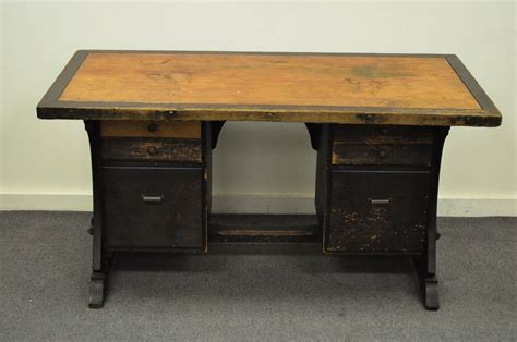 Arts And Crafts Style Desk by Early 20th Century Custom Mission Or Arts And Crafts Style