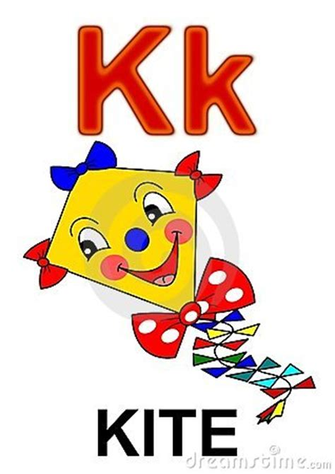 Letter Of Credit Kiting Letter K Kite Royalty Free Stock Image Image 17829186