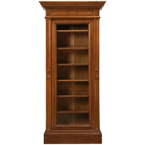 antique bookcase in solid walnut for sale at 1stdibs