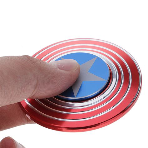 Fidget Spinner Capten America Spinner captain america shield fidget spinne end 5 18 2018 5 15 am