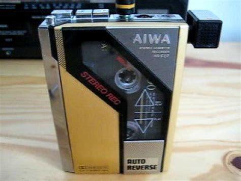 aiwa radio cassette recorder aiwa hs f07 stereo cassette recorder