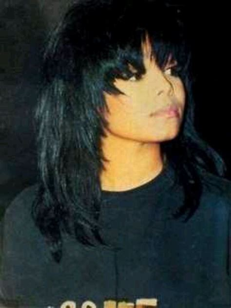 janet jackson long layered hairstyles from the 80s and 90s janet jackson pleasure principle 80 s baby pinterest