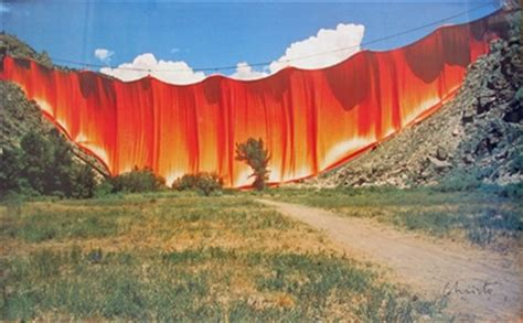 christo and jeanne claude valley curtain valley curtain window curtains drapes