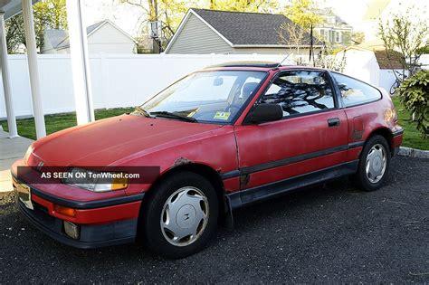1988 honda civic crx 1988 honda crx si 1 6 sohc 2nd owner historic car 25 yrs engine a