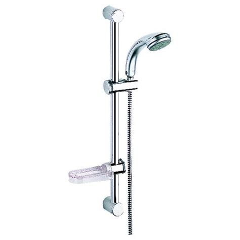 Grohe Soap Dish For Shower Bar by Cheap Grohe 28644000 24 Inch Relexa Dual Shower With