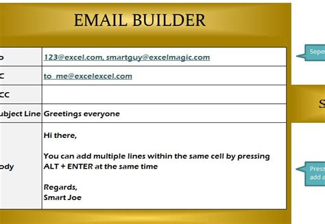 email builder template my excel templates