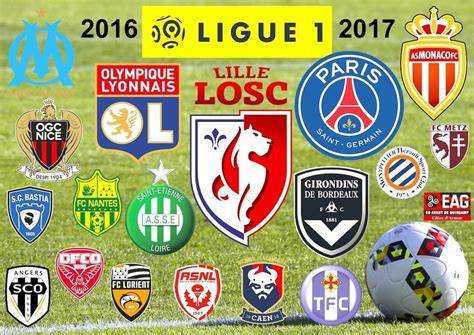 Calendrier Psg 2016 Ligue 1 Football Ligue 1 Saison 2016 2017 Pr 201 Sentation Et