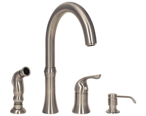 4 kitchen faucet sink faucet design brushed nickel 4 kitchen faucets