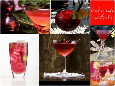 signature drinks for your wedding by color red st