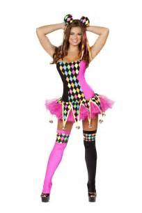 plus women halloween costumes lusty laughter women clown costume 92 99