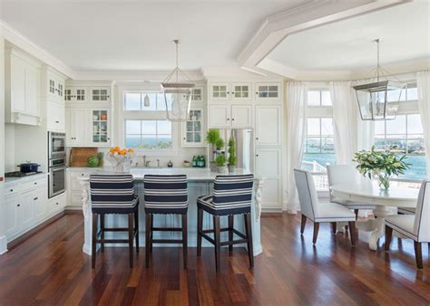 interiors of kitchen house with airy coastal interiors home bunch