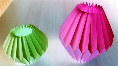 Paper Craft Decoration - home decor paper crafts for light bulb by srujanatv