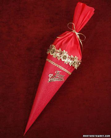 Valentine Gift Cones Martha Stewart Martha Stewart Paper Cone Template