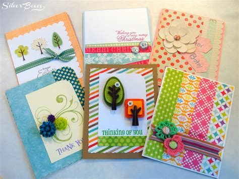 Handmade Giveaways - silver boxes silver boxes handmade card giveaway