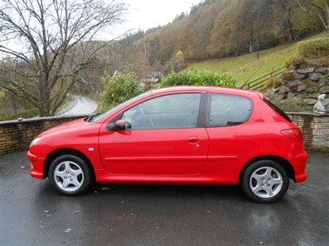 peugeot 206 4 door peugeot 206 1 4 verve 3 door car for sale llanidloes powys