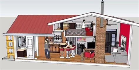 sq ft    tiny house design