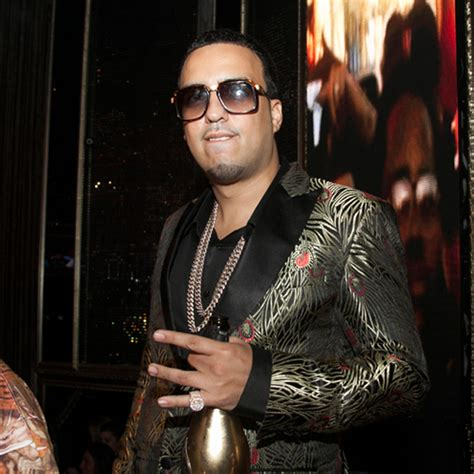 French Montana wearing Cazal 616 Sunglasses and Iced Out Miami Cuban Link Chains   Splashy Splash