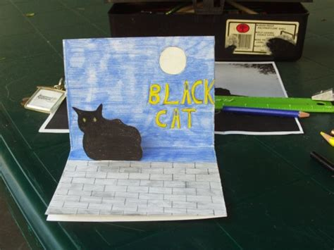 how to make a pop up cat card how to make a pop up card for hubpages