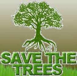 To save the earth we should not cut the trees beacuse trees keep save