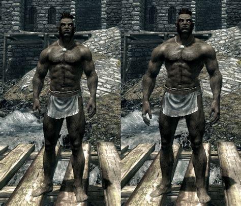 skyrim nexus better males mod change male and malebeast skeleton at skyrim nexus mods