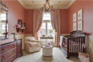 Salmon Colored Curtains Designs S Room Traditional Nursery Kansas City By Mccroskey Interiors