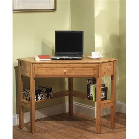 Want To Create Space Availability Try These Space Saving Wooden Corner Desk