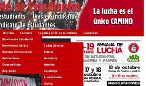 web imágenes videos noticias el sindicato de estudiantes se retrata quot defendemos euskal