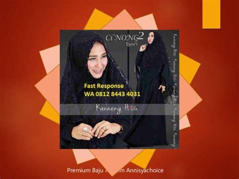 Jilbab Kerudung Segi4 Studed 0812 8443 4031 i premium baju islami