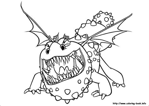 free coloring pages of the deadly nadder