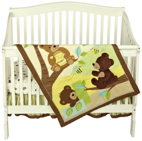 Honey Crib Bedding by Bedtime Originals Honey 3 Crib Bedding Set