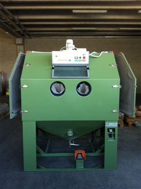 cabine di sabbiatura usate sabbiatrici pallinatrici lugnani usato sabbiatrice 3 2012