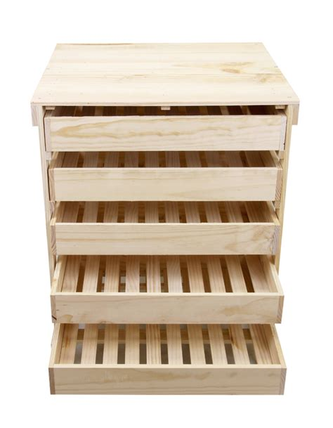 Holz Schubladen Bestellen by Obsthorde Aus Holz Mit 5 Schubladen H78cm X B60cm 89 99